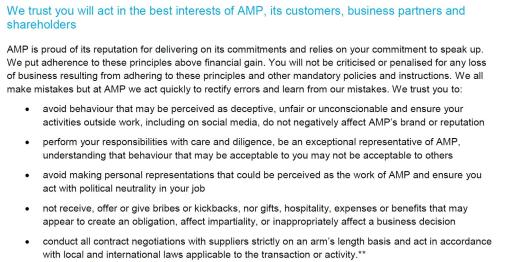AMP Values