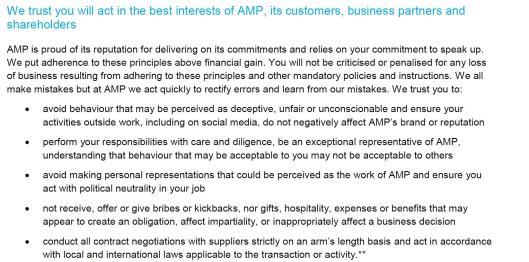 AMP Values
